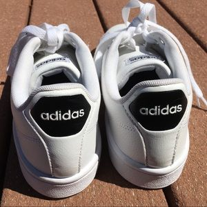 adidas Shoes - ADIDAS White Cloudfoam Sneakers